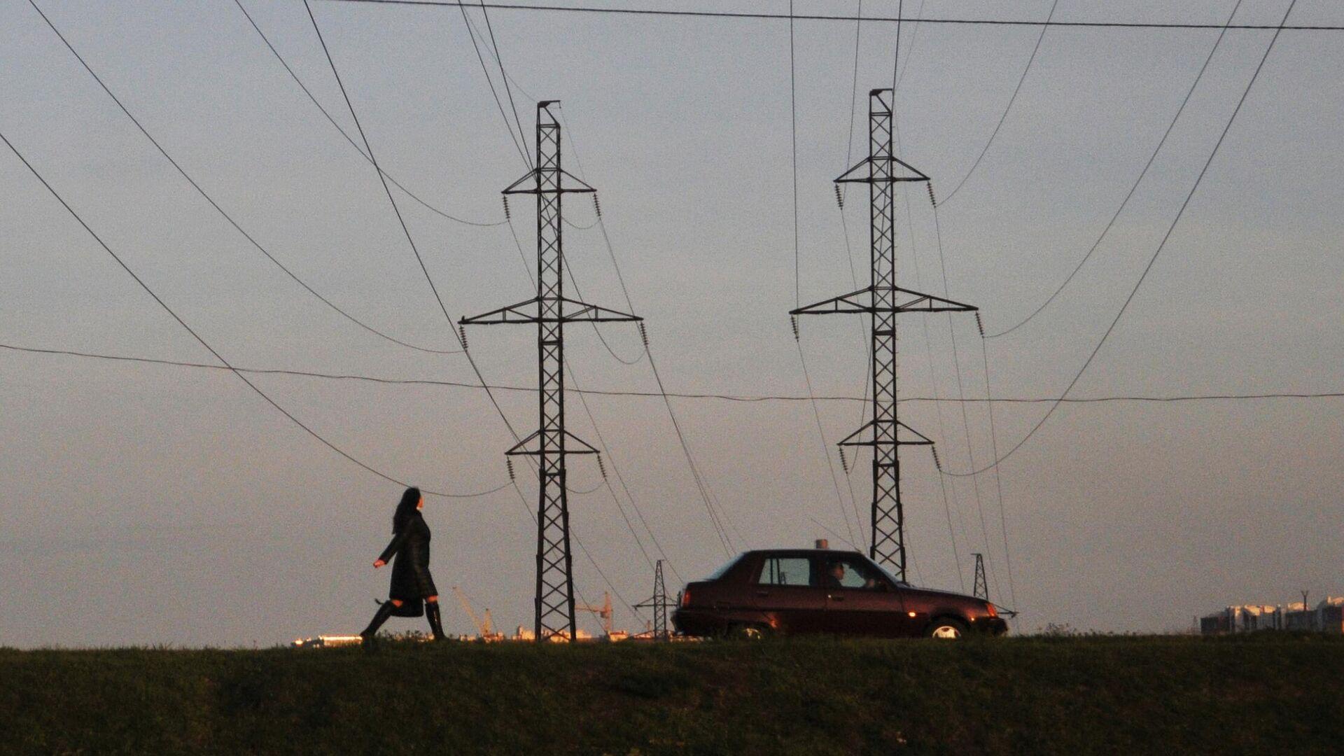 Линии электропередачи во Львовской области - РИА Новости, 1920, 18.05.2021