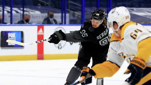 Российский хоккеист Тампы Бэй Лайтнинг Михаил Сергачев