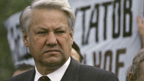 Президент России Борис Николаевич Ельцин