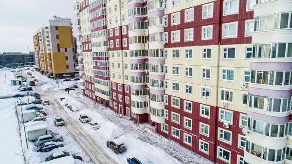 Жилые дома в Новой Москве