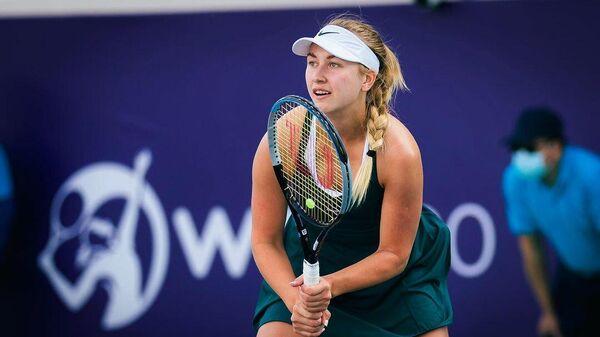 Российская теннисистка Анастасия Потапова