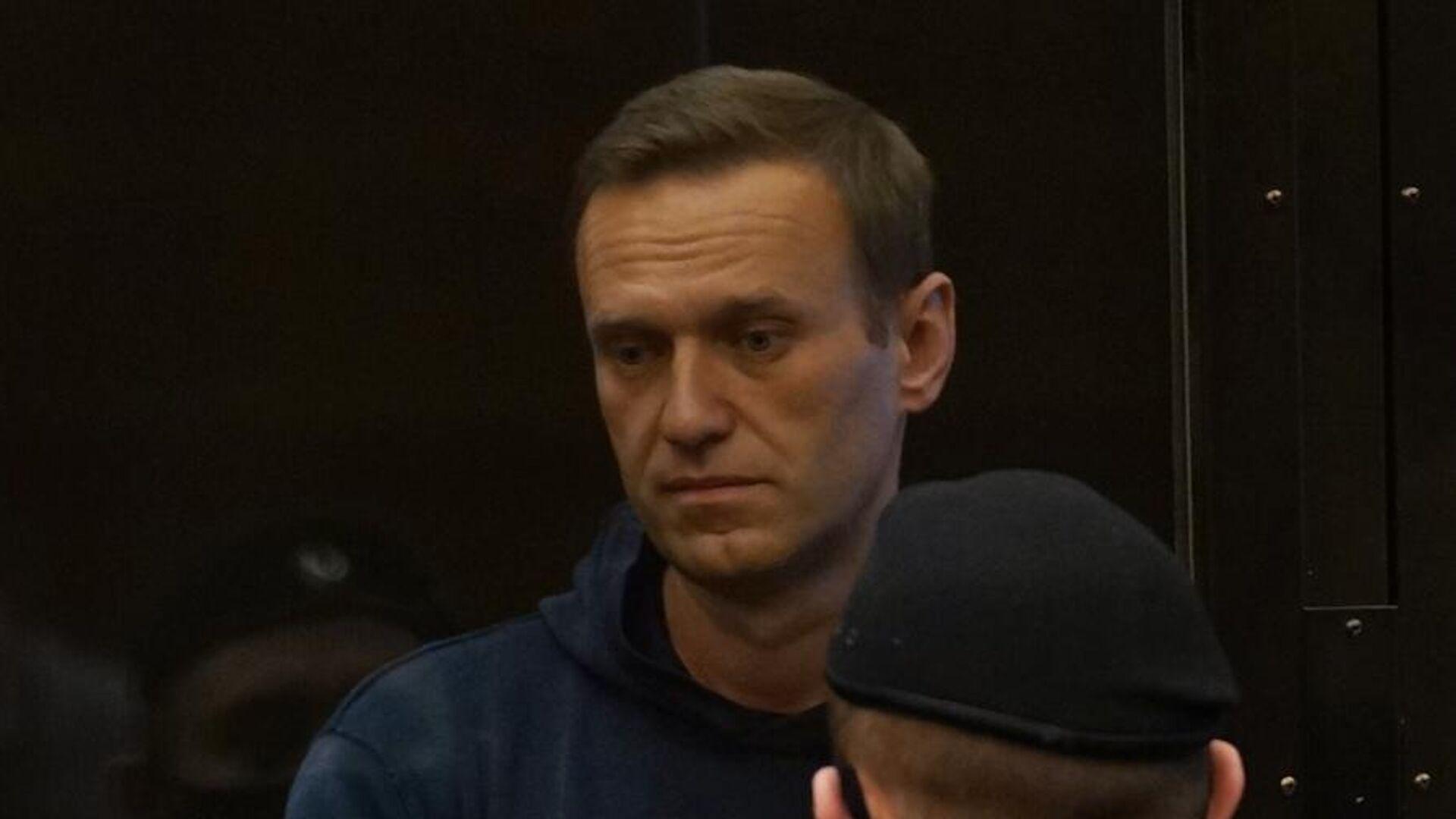 Алексей Навальный на заседании Московского городского суда - РИА Новости, 1920, 03.02.2021
