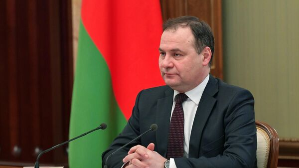 Премьер Белоруссии рассказал об ответе на западные санкции
