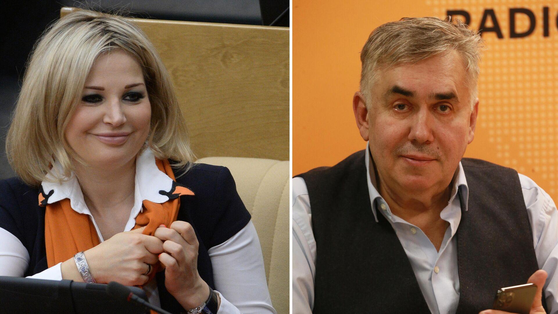 Мария Максакова и Станислав Садальский  - РИА Новости, 1920, 03.02.2021