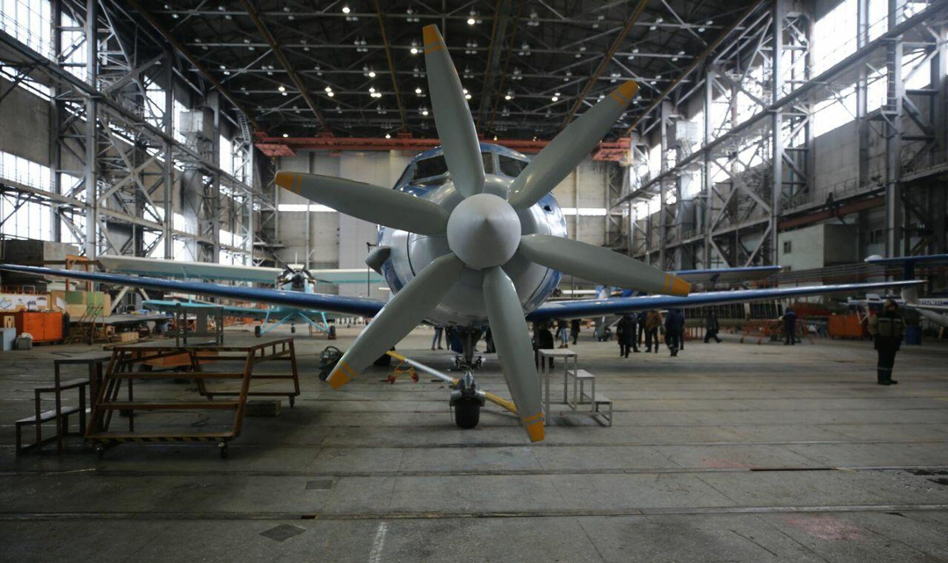 Испытания первого гибридного авиадвигателя - РИА Новости, 1920, 05.02.2021
