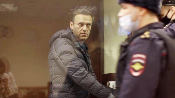 Алексей Навальный перед заседанием Бабушкинского суда