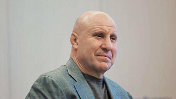 Олимпийский чемпион, президент Федерации спортивной борьбы России Михаил Мамиашвили