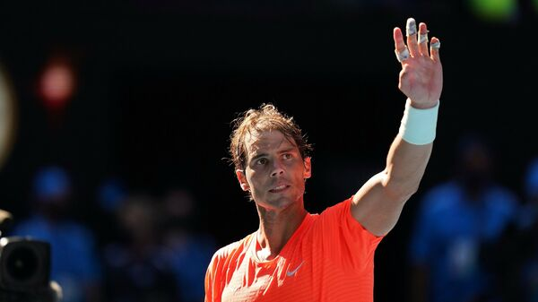 Испанский теннисист Рафаэль Надаль