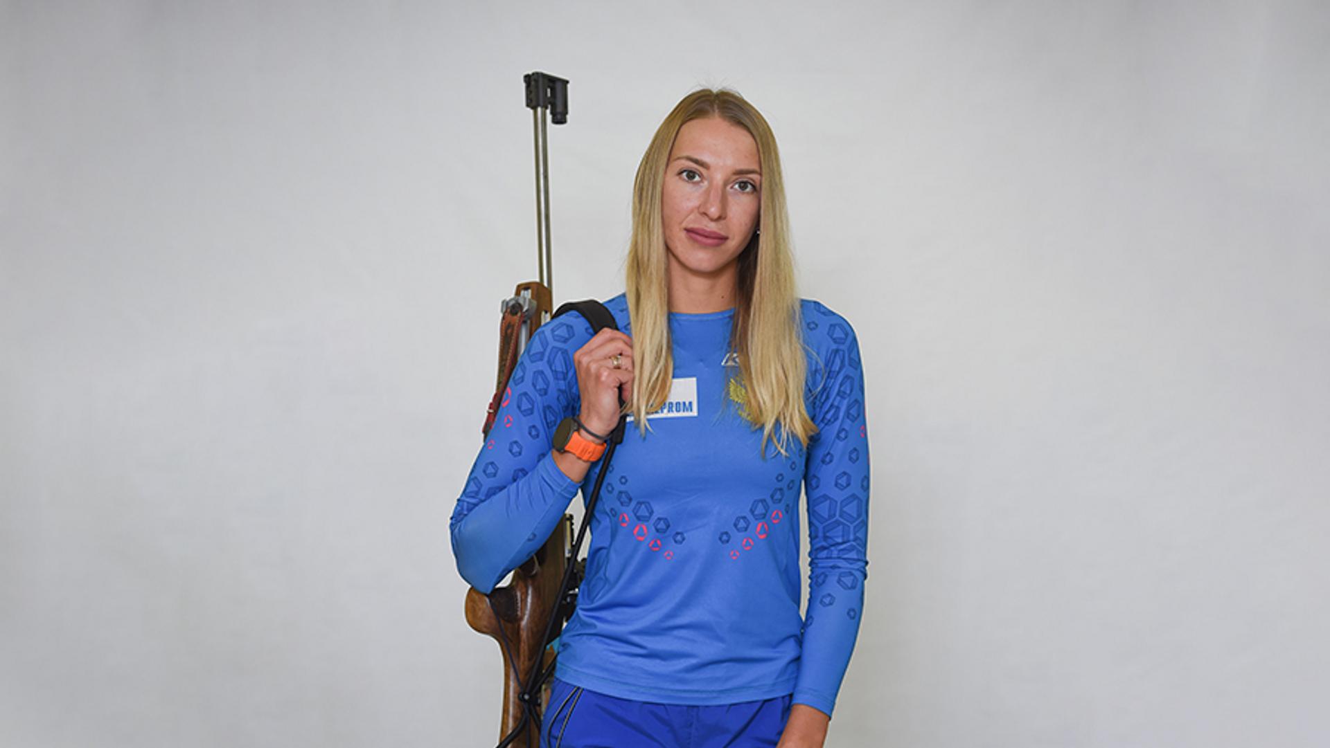 Биатлонистка Екатерина Носкова (Россия) - РИА Новости, 1920, 13.02.2021