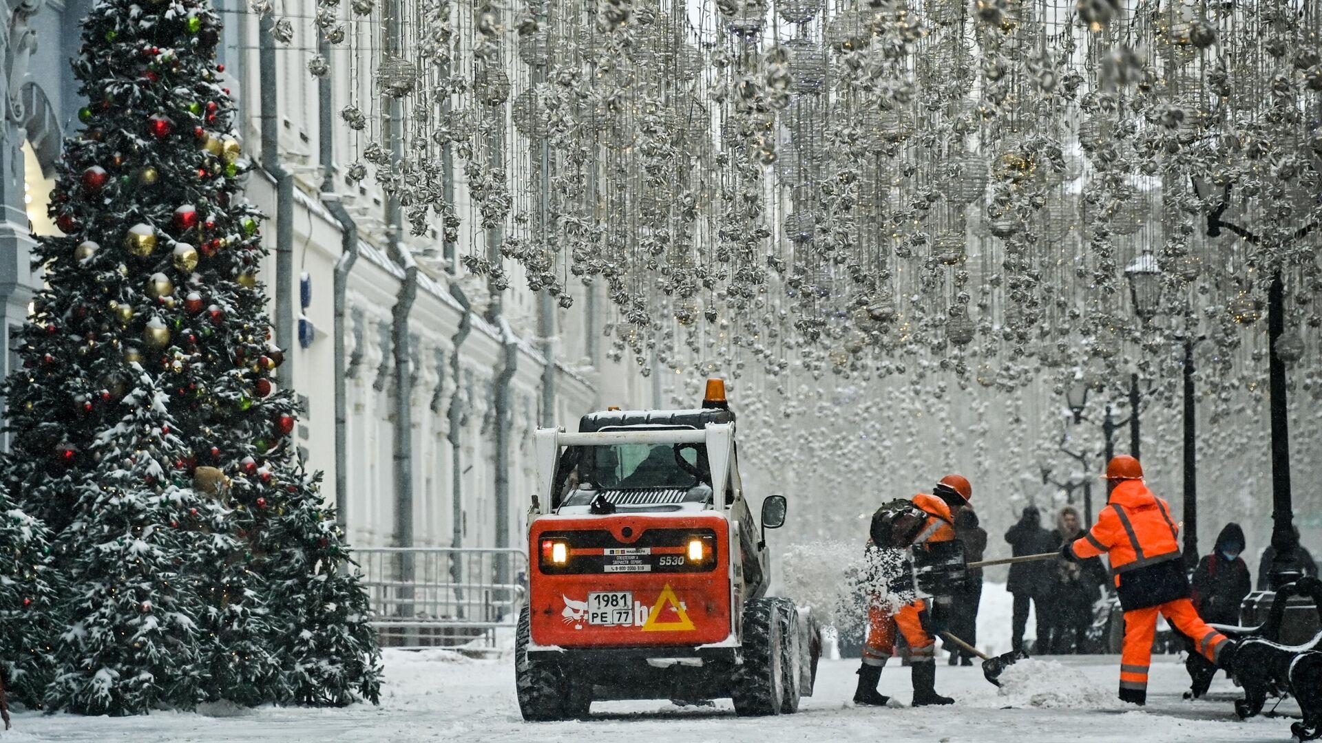 Зима в Москве  - РИА Новости, 1920, 14.02.2021