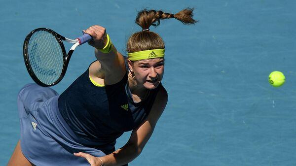 Чешская теннисистка Каролина Мухова