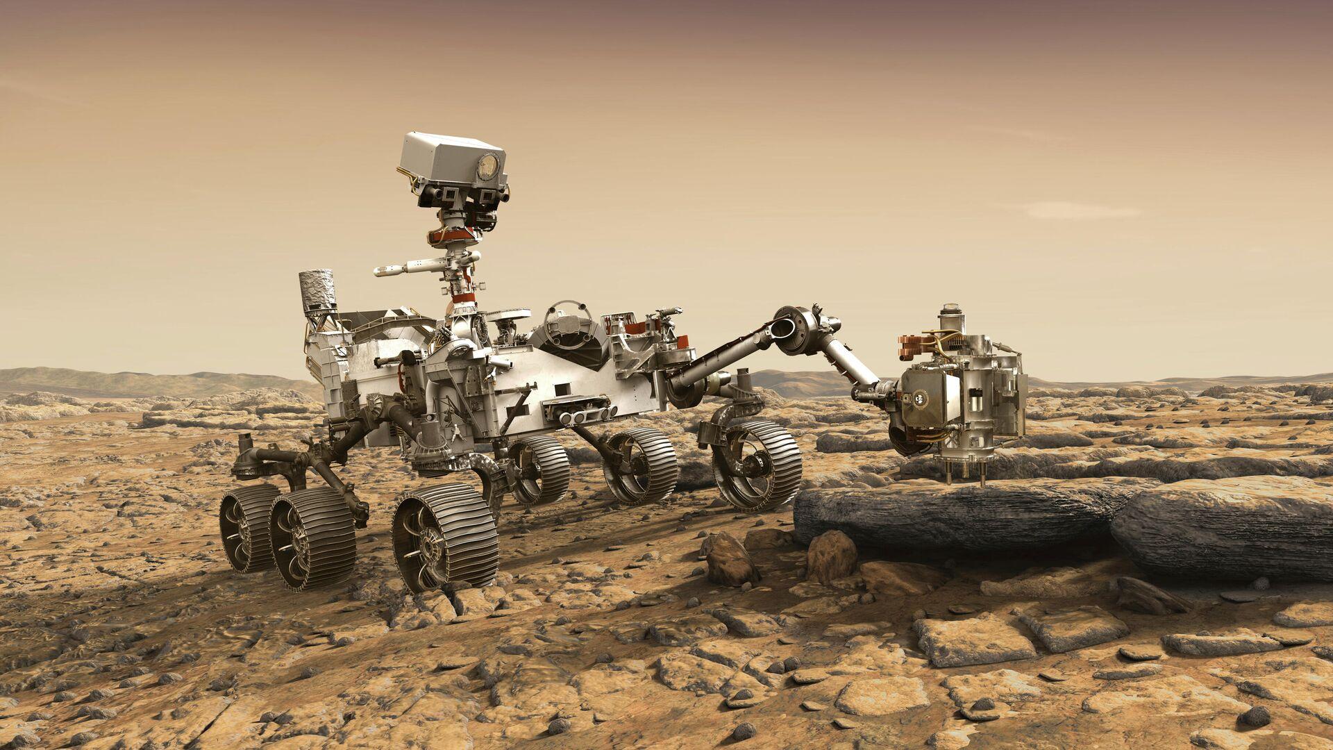 Ученые впервые заглянули в недра Марса и определили толщину его коры