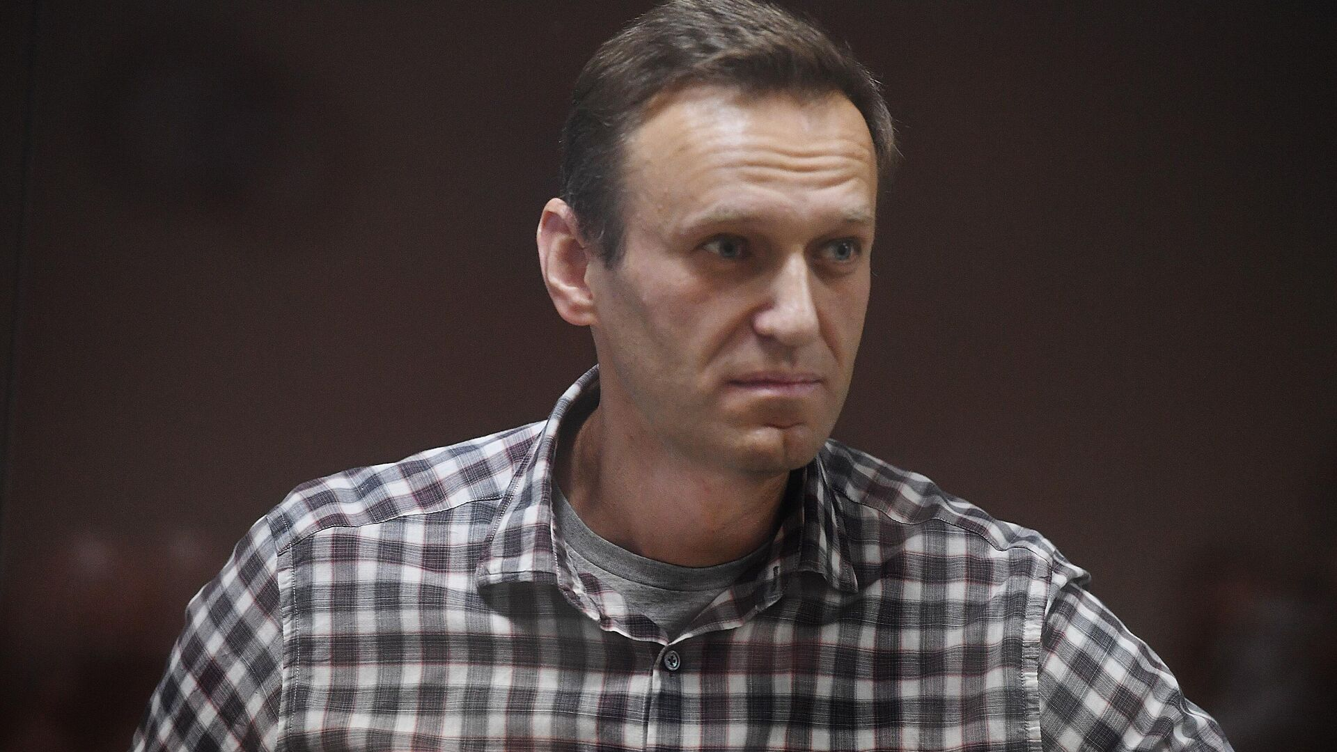 Алексей Навальный в зале Бабушкинского районного суда - РИА Новости, 1920, 26.02.2021
