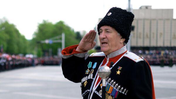 Атаман Кубанского казачьего войска Николай Долуда