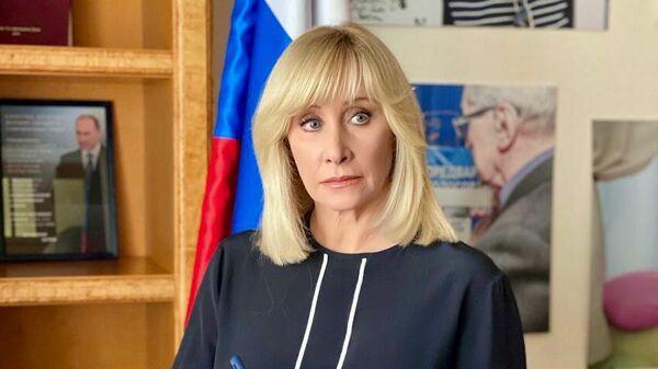 Заместитель председателя комитета Государственной Думы РФ по вопросам семьи, женщин и детей Оксана Пушкина