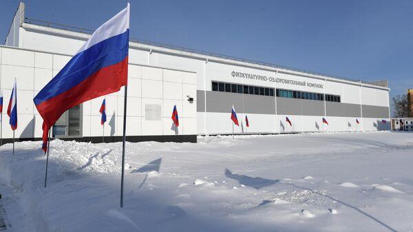 Физкультурно-оздоровительный комплекс в Тверском суворовском военном училище