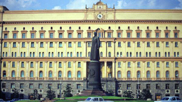 Памятник Ф.Э.Дзержинскому на Лубянской площади