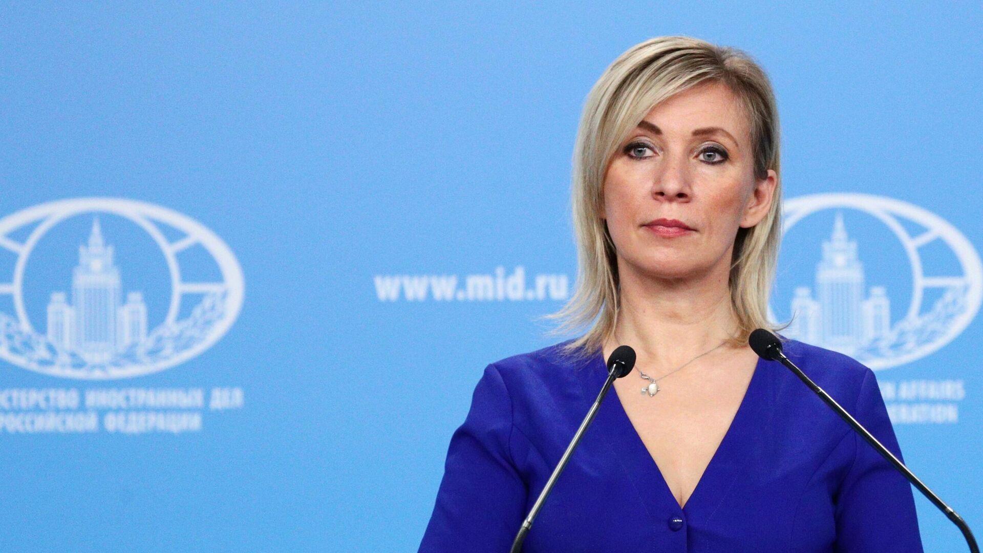 Официальный представитель Министерства иностранных дел России Мария Захарова - РИА Новости, 1920, 03.03.2021