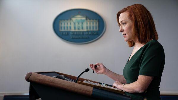 Пресс-секретарь Белого дома Джен Псаки