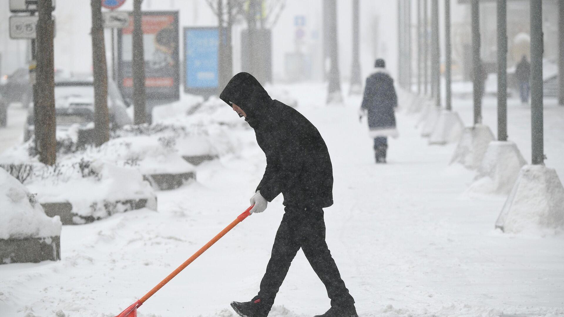Зима в Москве  - РИА Новости, 1920, 04.03.2021