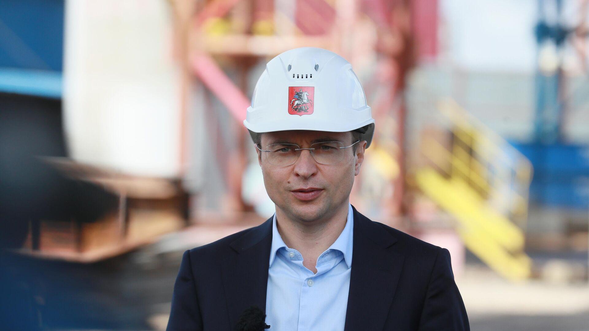 Руководитель департамента строительства города Москвы Рафик Загрутдинов - РИА Новости, 1920, 02.04.2021