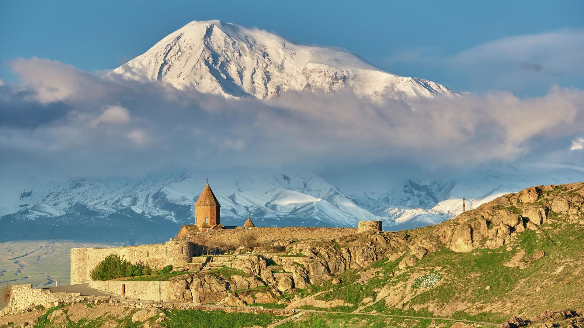 Khor Virap monastery in Armenia - RIA Novosti, 1920, 06.03.2021