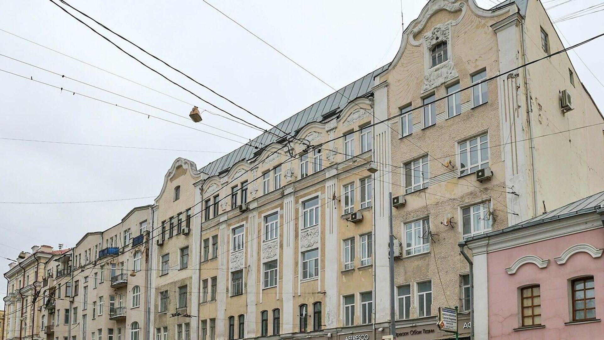 Бывший дом персидского торговца на Старой Басманной в Москве - РИА Новости, 1920, 02.03.2021