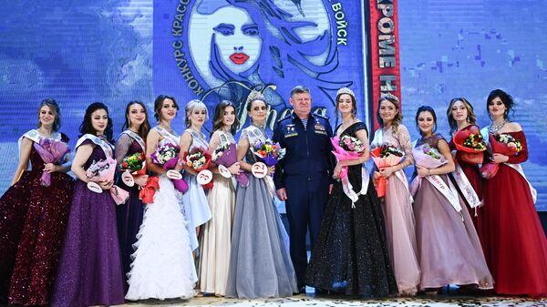 Финалистки IV конкурса красоты, профессионального и эстетического мастерства среди военнослужащих-женщин Воздушно-десантных войск Краса ВДВ - 2021