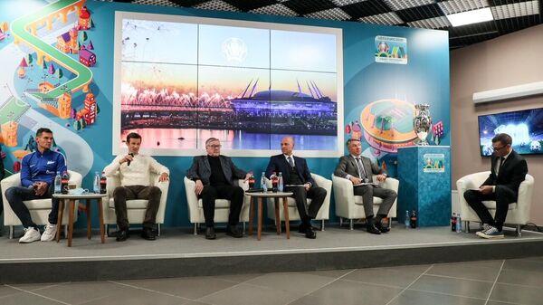 В Петербурге прошли мероприятия, приуроченные к 100 дням до старта ЕВРО-2020