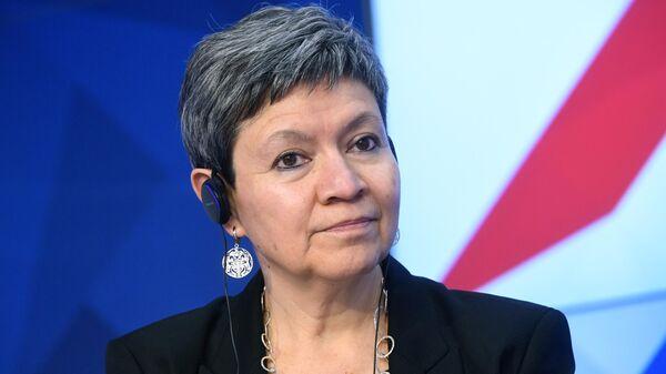 Чрезвычайный и полномочный посол Мексики в Российской Федерации Норма Пенсадо Морено