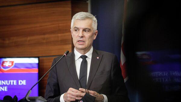 Министр иностранных и европейских дел Словакии Иван Корчок