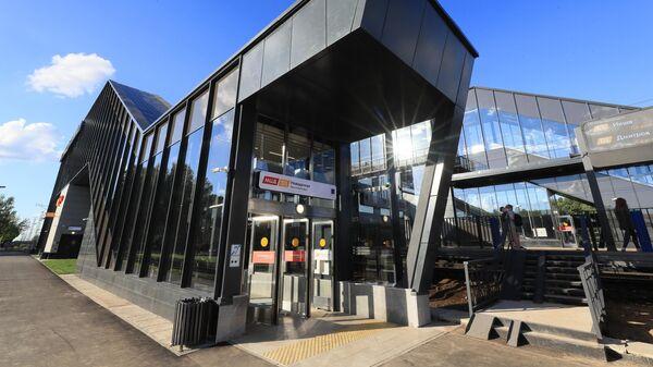 Переход на станцию МЦД