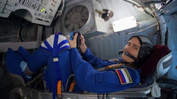 Член российского отряда космонавтов Анна Кикина
