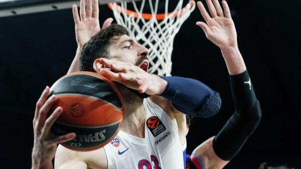 Баскетболист ЦСКА Торнике Шенгелия