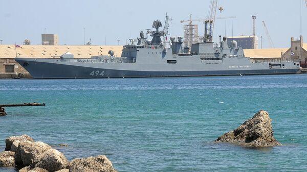 Фрегат Адмирал Григорович в Порт-Судане