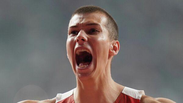 Белорусский легкоатлет Максим Недосеков