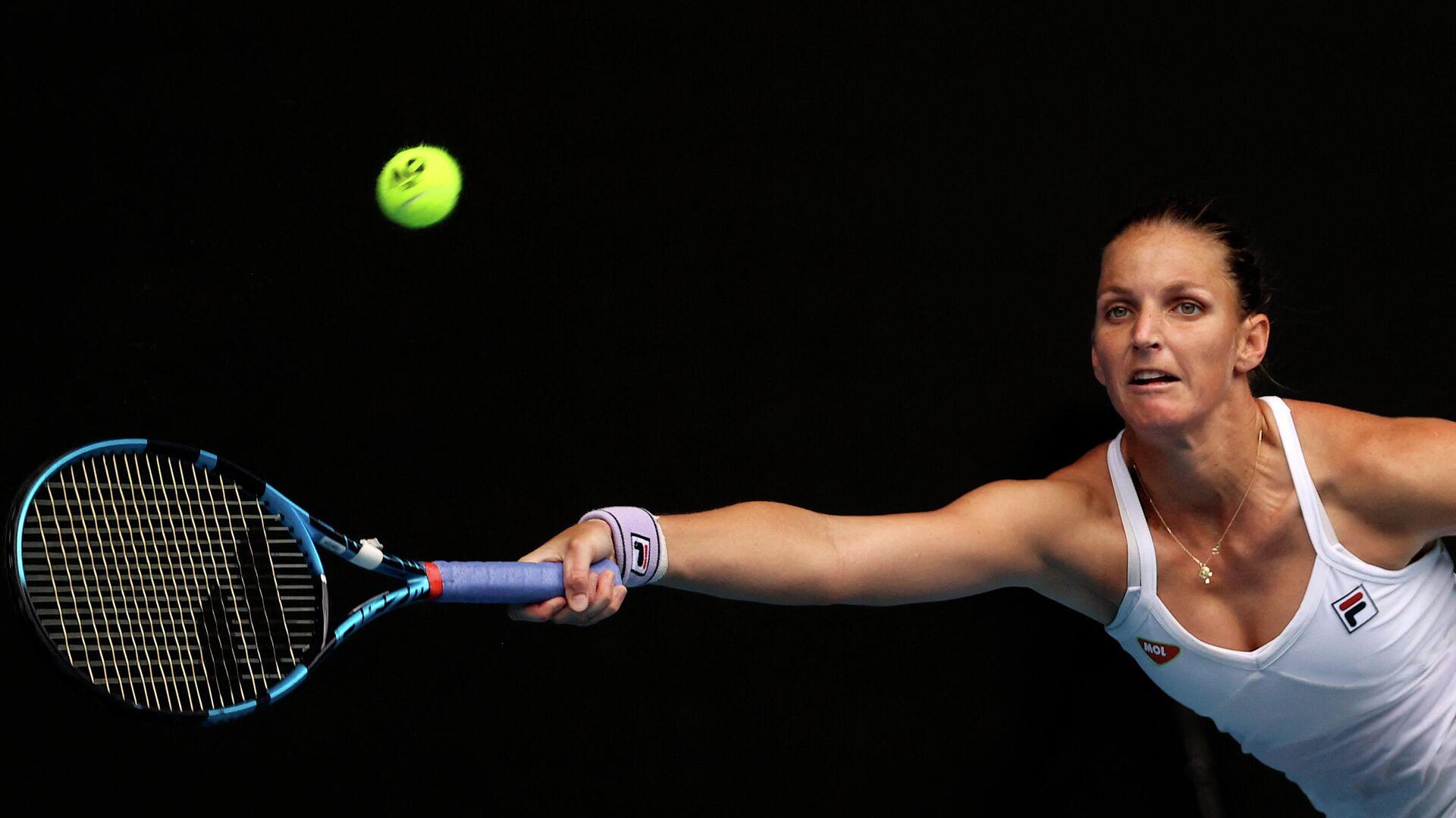 Теннисистка Каролина Плишкова (Чехия) - РИА Новости, 1920, 09.03.2021