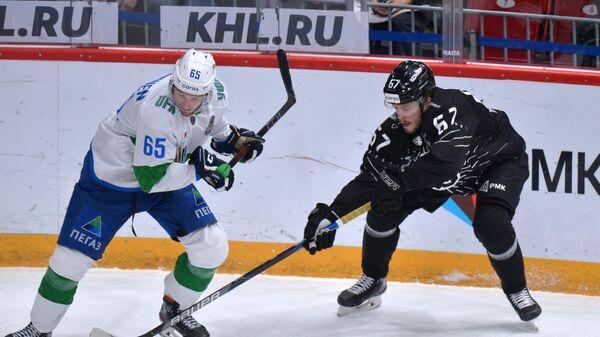 Хоккей. КХЛ. Матч Трактор - Салават Юлаев