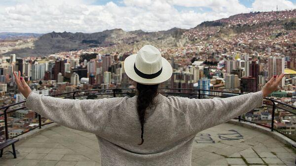 Панорама города Ла-Пас, Боливия