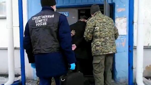 Задержание министра здравоохранения Республики Алтай Сергея Коваленко. Кадр видео