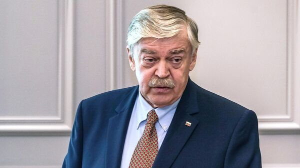 Чрезвычайный и полномочный посол РФ в Латвии Евгений Лукьянов