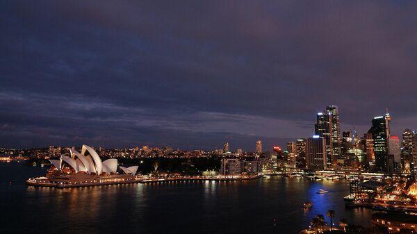 Гавань в Сиднее, Австралия