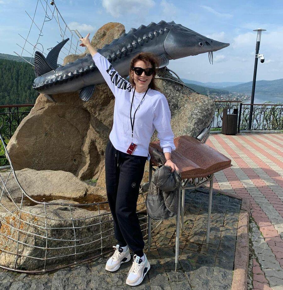 Актриса Алена Хмельницкая