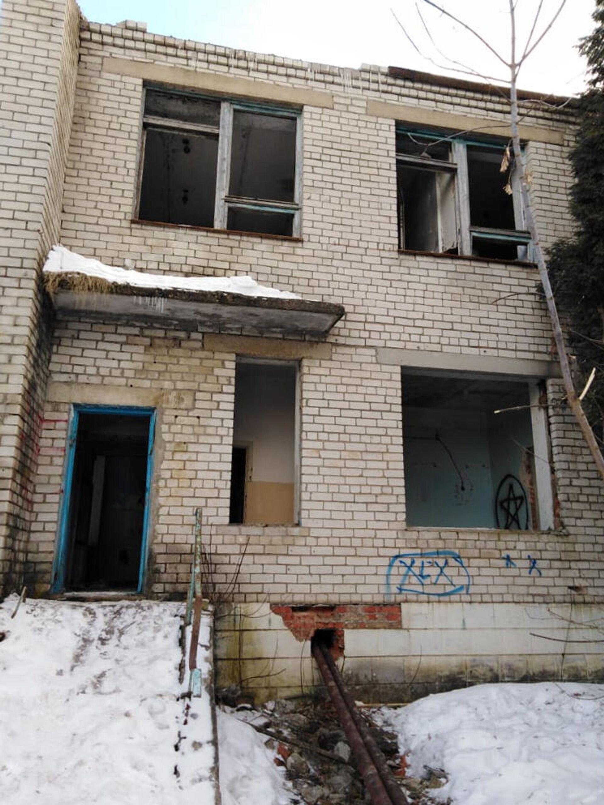 Бывшая железнодорожная больница - РИА Новости, 1920, 11.03.2021