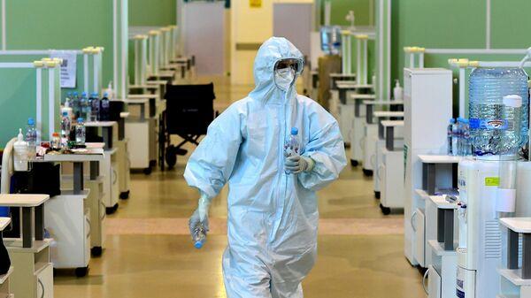 В Москве за сутки госпитализировали 1377 пациентов с COVID-19