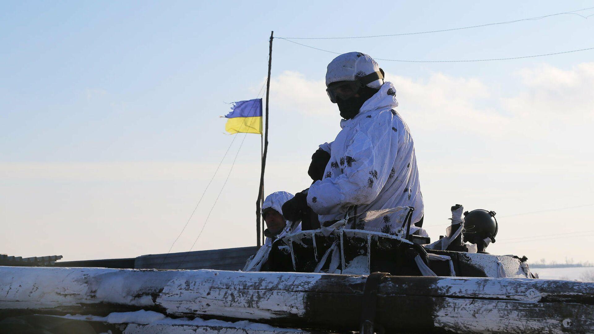 Украинские военнослужащие - РИА Новости, 1920, 13.05.2021
