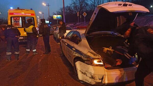 ДТП во Владивостоке, в результате которого погиб сотрудник полиции