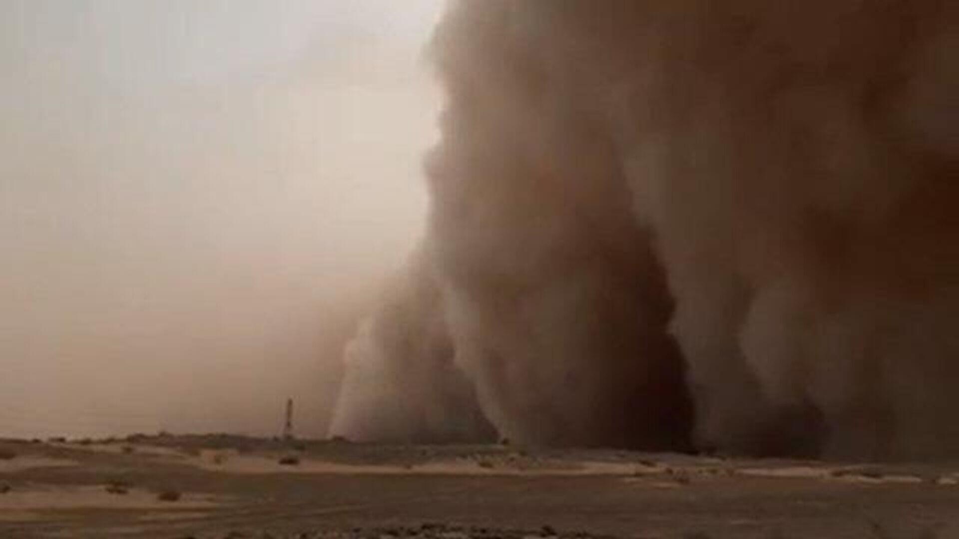 Сильнейшая песчаная буря в Персидском заливе - РИА Новости, 1920, 14.03.2021