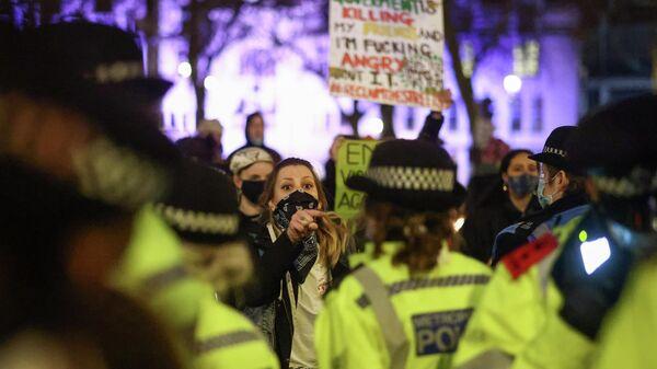 Протесты после убийства Сары Эверард в Лондоне