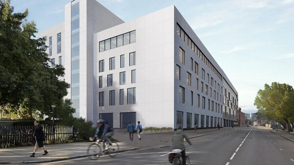 Проект квартала при строительстве кампуса МГТУ имени Баумана в Москве